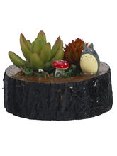 Aashi Gifts Artificial Plant With Brown Wooden Loo...