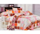 Welhouse India double bed sheet with 2 pillow covers, design4