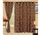 Cortina Bamboo 5Ft Curtain, mustard