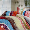 Multicolour And Multi Print Pure Cotton Bed Sheet Set BS139107, multicolor