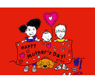 meSleep Happy Mothers Day Poster, multicolor