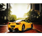 meSleep Super Car Poster, multicolor