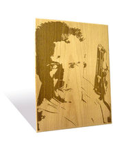 Engrave Bruce Willis Plaque (Multicolor)