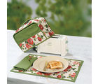 Floral elegance Toaster cover set (Multicolor)