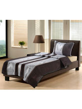Single Bed Sheet Set With Pillow Cover, Design2