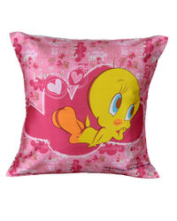 Warner Brother By meSleep Tweety Cushion Cover, multicolor