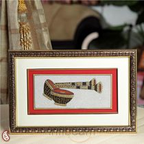 Gold Painted Musical Set Hanging