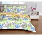 Welhome Basic Green Double Bed sheet
