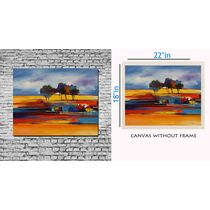 meSleep Canvas painting without frame - Tree, multicolor