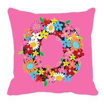 meSleep Valentine Cushion Cover,  pink