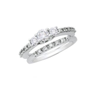 Fullcutdiamond 0.73 Cts Diamond Ring In Gold & Rea...