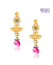 Sukkhi Kundan Gold Plated Magnificent Pendant Set