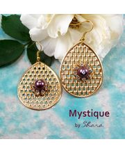 Shara Handcrafted Jewels Mystique Earrings