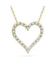 JPEARLS Endless Love Diamond Pendant