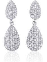 Peora Sterling Silver Earring With CZ PE149