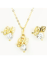 Ghasitaram Gifts Love Pendant Set