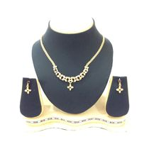 Shriya Austrian Diamond Gold Plated Nacklace Set