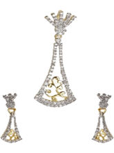 Shriya Innovative 18 Karat Gold Plated American Di...