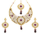 Vendee fashion royal fashion diamond necklace set (6547)