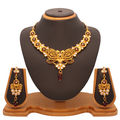 Vendee Fashion Attractive Remarkable Kundan Necklace Set (7207)