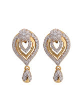 Asure Jewel Charvi Gold Drop Earring