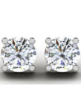 Sparkles 0.2 Cts Diamond Earring In 18KT Gold