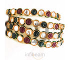 Klassic Kundan Stone Bangle