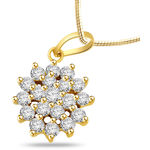 Sparkles 0.47 Cts Sparkles Diamond PENDANT in Gold & Real Diamonds