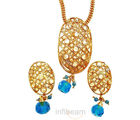 Cool Blue Pendant Set