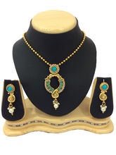 Shriya 18 Karat Gold Plated Designer Necklace Set ...