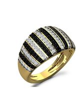 Fullcutdiamond 0.75 Cts Diamond Ring In Gold & Rea...