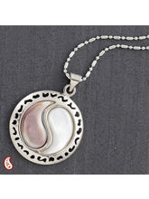 Ying & Yang Mother Of Pearl Necklace