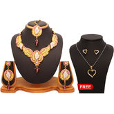 Vendee Fashion New Arrival 1 Necklace Set 1 Pendant Combo