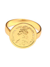 Ratnakar Golden Coin Ring, 5
