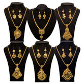 Vendee Fashion 6 Pcs Gold Combo