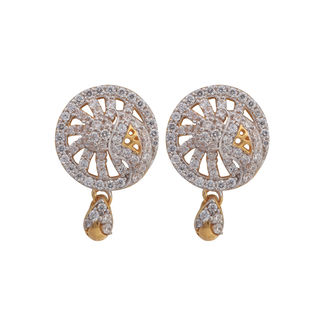 Asure Jewel Casper Gold Drop Earring
