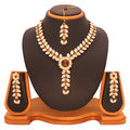 Vendee Fashion Kundan Necklace Set 5984