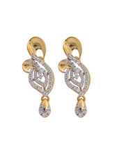 Asure Jewel Mohana Gold Drop Earring