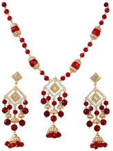 Gifts World Riya Heavy Pendent Set