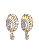 Asure Jewel Sarisha Gold Drop Earring