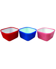 Wondercraft Servin Delite Bowl Set Of 3 Pcs By Chef Sanjeev Kapoor, Multicolor