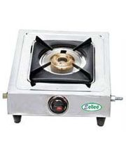 EELLEE Single Burner Stainless Steel Gas Stove ELE-101, Multicolor