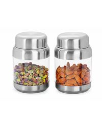 Sizzle Clear Containers 400 ml Set of 2, multicolor