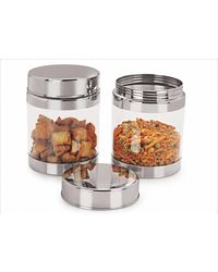 Sizzle Containers 1200 ml Set of 2, multicolor