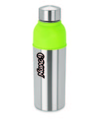NanoNine Insulated Energy Cool Bottle, 600 ml,  silver