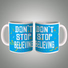Don't Stop Believing Mug, multicolor