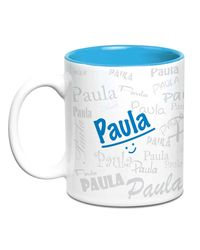 Me Graffiti Mug - Paula, multicolor