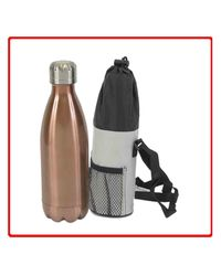 H2O CLB Bottle 1.8 L with Cover,  silver