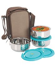 Nano 9 Insulated 3pc Junior Lunch Box SS070, multicolor
