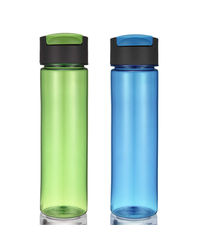 Wonderchef Pure Water Bottles Set of 2, blue and green